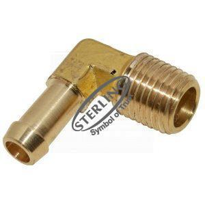 Clamp Style Hose Male Elbow (Hose x NPT)