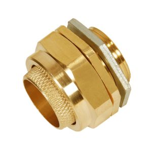 BW 2 Part Brass Cable Gland Indoor - Commercial Type