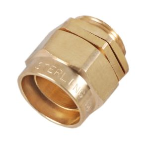 BWL 3 Part Brass Cable Gland Indoor