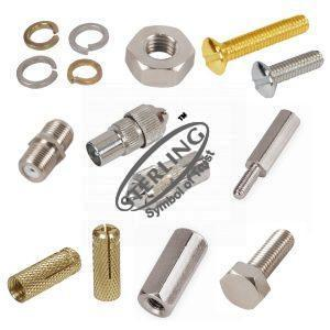 Industrial Fasteners & RF - TV Connectors